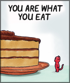 Nomchom Comic - You Are What You Eat