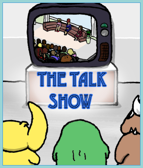 The Talk Show - nomchom comic cover